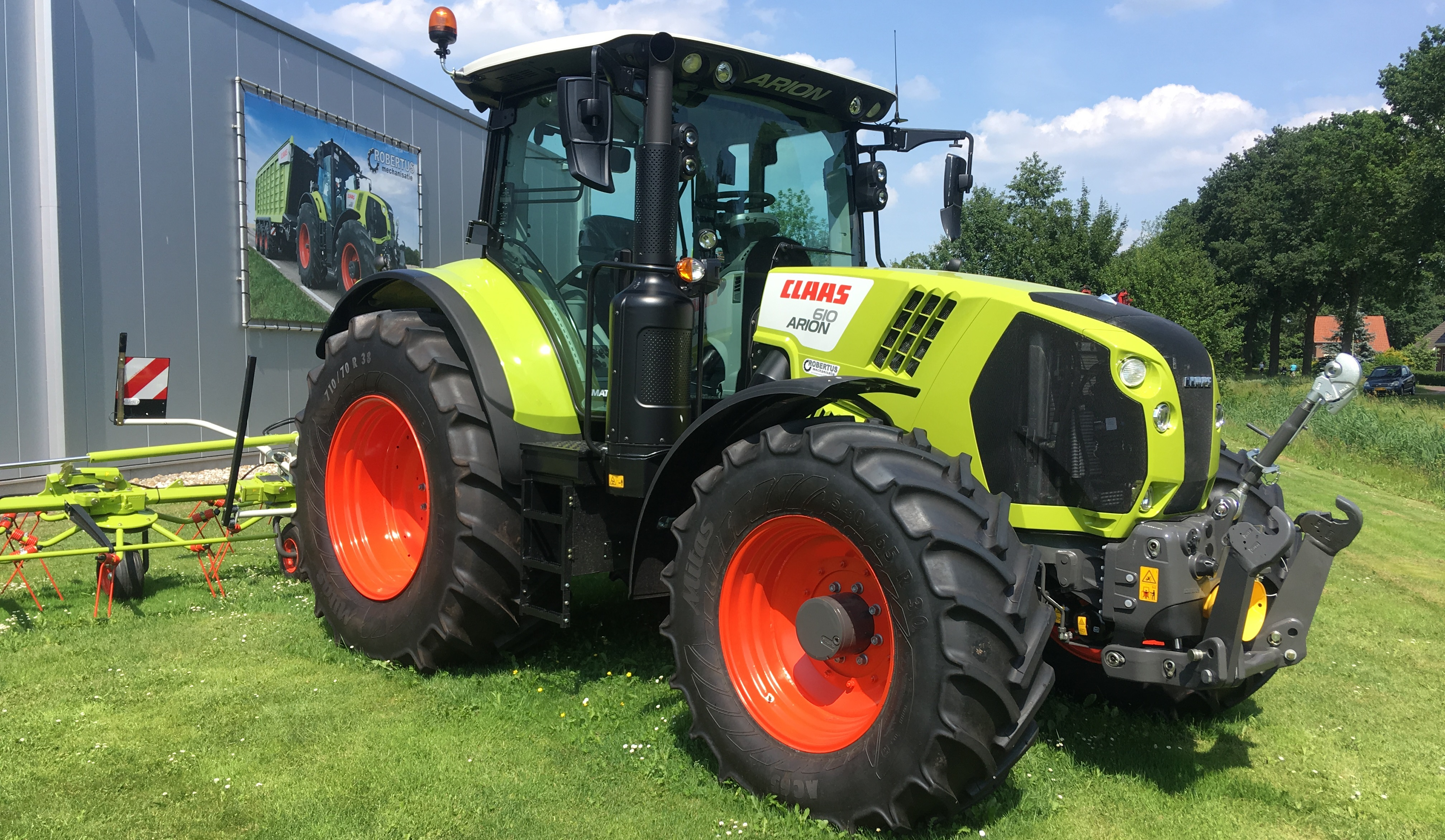 Claas Arion 610 CIS+ Cmatic